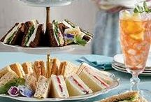 High tea / Pretty things and recipes