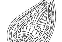 motif indien