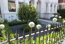 Small Victorian Front Garden