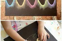 boya çalışmaları