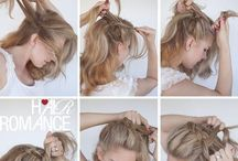Hair & Makeup / Hair and makeup ideas for the wedding.