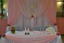 dekoraja stołu para mloda