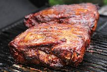 Get Your Grilling On! / Who doesn't love the smoky taste of grilled meats and veggies? Here's a collection of deliciousness from grilled steaks, to chicken, vegetables & even desserts.