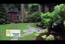 Amazing Landscaping / Cedarshed.com offers some great Pins or well designed yards, perfect for adding a garden or storage shed.