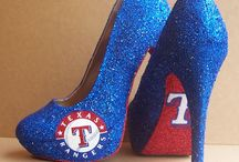 Texas Rangers heals / Shoes
