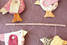 DIY wind chimes, mobiles