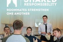 Shared Responsibility / This principle denotes our covenant responsibility to lift, comfort, and care for our brothers and sisters (Mosiah 18:8-9). Shared responsibility affirms our role as our brother's keeper. / by BYU-Idaho Student Living