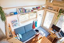 tiny homes / by Kayla Kirkland