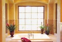 Stucco Veneziano Bathroom