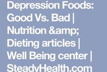 depression food good verses bad