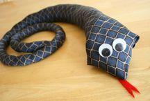 cravatta serpente