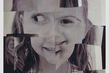 Collage ritratti