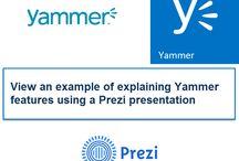 Yammer Prezi