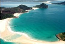 Beautiful Beaches of Port Stephens / With an abundance of pristine beaches, the Port Stephens peninsular has a beach for every occasion!