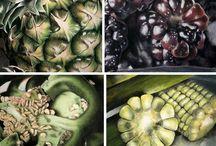 Gyümölcs, zöldség rajzok