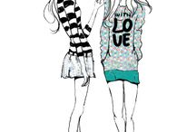 2 Girl's (cartoons)