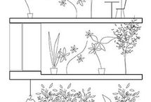 Greenery Drawings