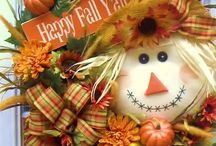 fall wreaths and decorations