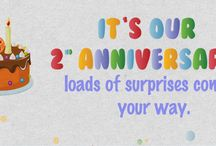 2nd Anniversary / Its our 2nd Anniversary and we bring you loads of contests and prizes. Stay Tuned