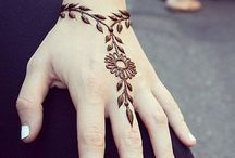 Design per tatuaggio all'hennè