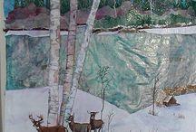 Quilts: landscape & art quilts / #landscapequilts #artquilts #quilts / by Margie Oh