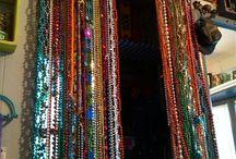 Diy curtains/window/door frame beads