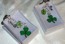 St Patrick's Day  - Ireland  / Everything green, Irish, St. Patrick's Day, jewellery, Emerald Isle