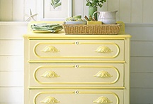 furniture fix ups / diy and up cycling with furniture--what could make a home more personal and homey??? / by Laurie Ducharme