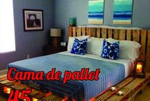 Decoração lindas com pallets / Conheça muitas maneiras de usar pallets na sua decoração. Faça camas, sofás, cozinhas, paredes, enfim as oportunidades com pallets são as mais diversas possíveis!