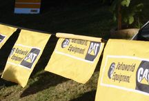 Bunting / Bunting is a great tool for getting your branding visible in a limited space. The branded bunting can be strung anywhere and as they are hung up, they are easy to spot from a distance. There is no limit to the length of the bunting so any size can be customized to suit your branding space.