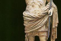 romeinen beeldhouwkunst