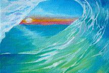 My surf art / Surf art - Board art