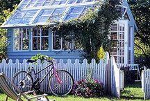 Garden Cottage 'n Shed ♥ / I ♥love♥ garden cottages and sheds!
