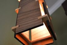 WOOD CHASING LAMP