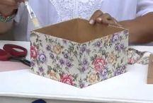 dekoracja pudełek