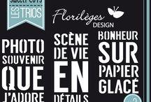 Florilèges design Dies