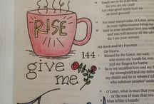 Bible Journaling & Hand Lettering / Hand lettering and Bible Journaling ideas, inspirations and tips.