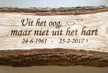 Tekst op hout ! / Allerlei teksten en/ of foto op Hout gegraveerd. Verkrijgbaar op webshop www.decoratietakken.nl. Ook mogelijk op persoonlijk iets te laten gegraveren via de email, zie voor meer info en unieke produkten met hout. www.decoratietakken.nl