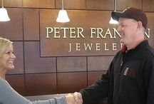 """The Peter Franklin Promise / At Peter Franklin Jewelers, we pride ourselves on knowing that the service you receive from our staff  is 100% tailored to you and for you. Maybe it's just something we say to ourselves as a reminder of where our focus should be, but when you walk through our doors, you will know that you really are """"the unique difference."""""""