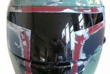 Helmets / Different mc helmets