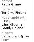 Paula Granö på Facebook
