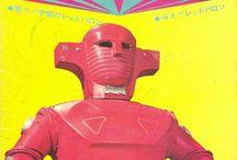 ピンクのロボット