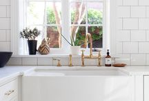 Dream Kitchen Ideas / Kitchen decor ideas. Ideas for Dream Kitchen. Mostly white kitchens