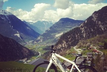 On a mountaintop / Mountains are beautiful in the summer! Leave the heat behind and have some fun at one of our beautiful properties in the Alps!