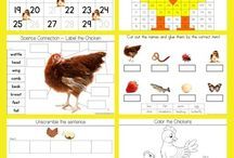 Story Book themed - Five Little Chicks