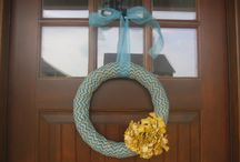 Simple, Rustic Wreaths for the Home / Love your door all year round! / by Whitney Walker