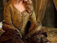 Исторический костюм - дамы