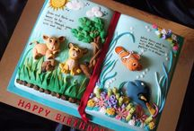 Top Book Cakes / Whether you're celebrating back-to-school, a graduation or having a birthday party themed around a favorite book, these cakes are... #featured-cakes #alyssac #leannew #cakecentral
