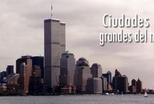 Ciudades más grandes del mundo / by Viajemejor.com