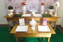 Aluguel de Peças para Decoração / Peças, Louças e Mobílias para decoração de festas